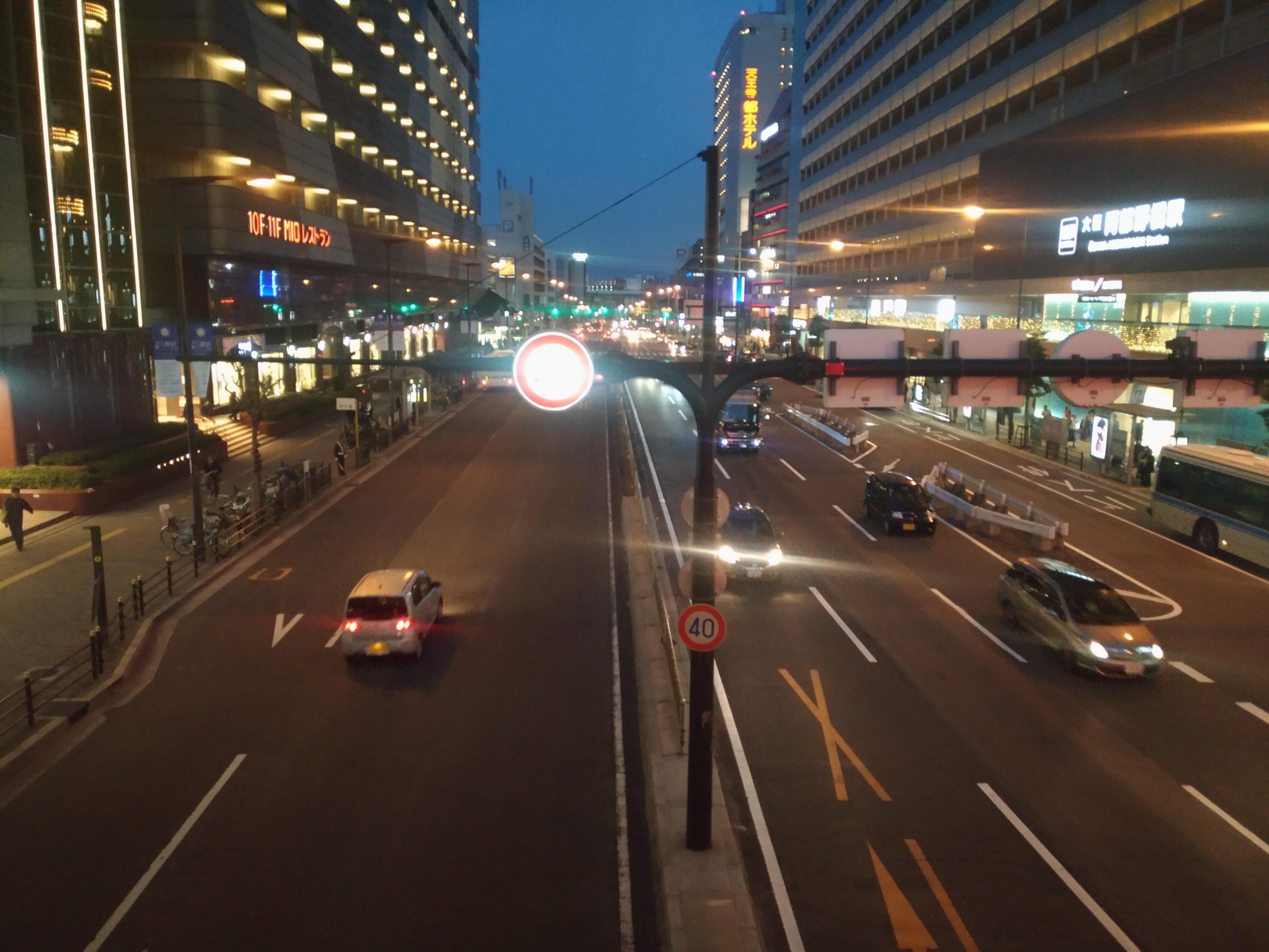 Zenfone3で動物と夜景を撮ってみた。標準カメラアプリはクラッシュする?