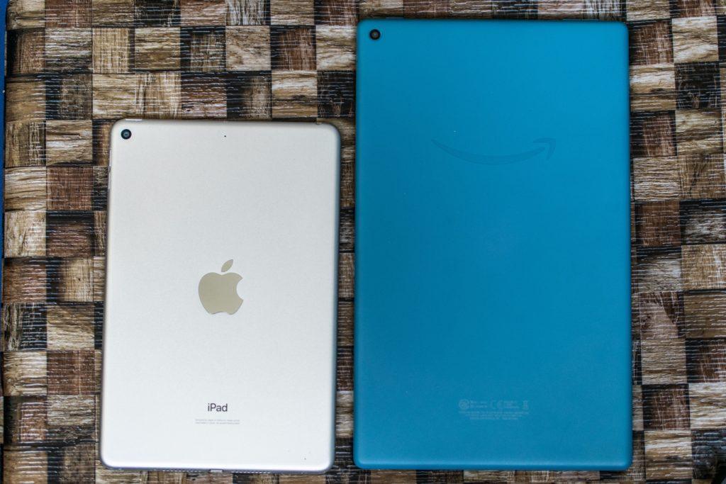 iPad mini 5とFire HD 10