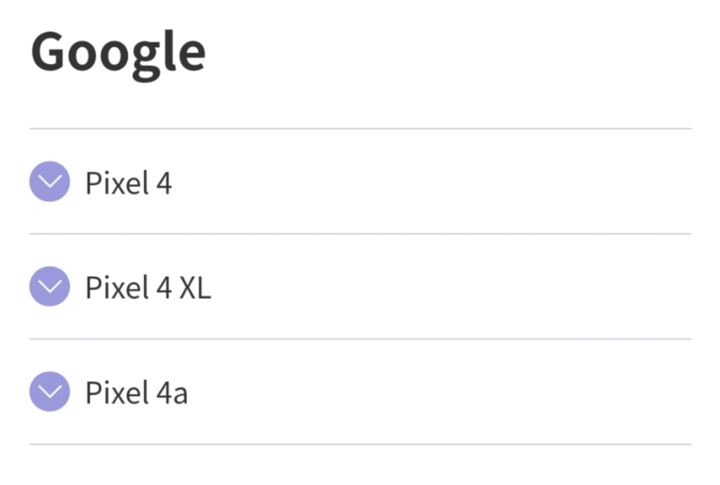 Pixel 4a 楽天モバイル