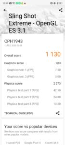 OPPO A5 2020 3DMark