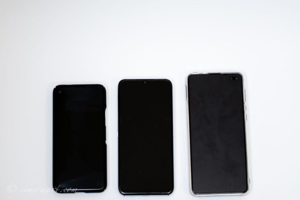 Pixel 4a UMIDIGI A9 Pro AQUOS sense4 plus