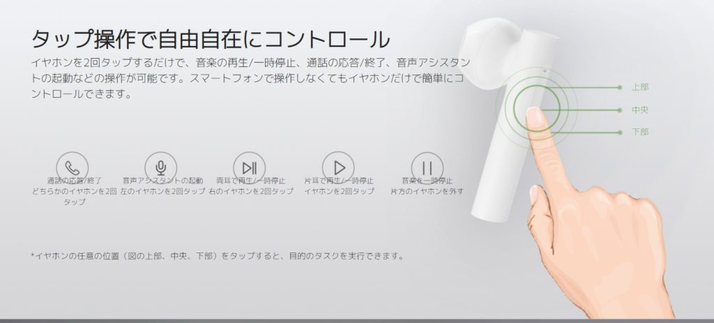 Mi完全ワイヤレスイヤホン2 Basic