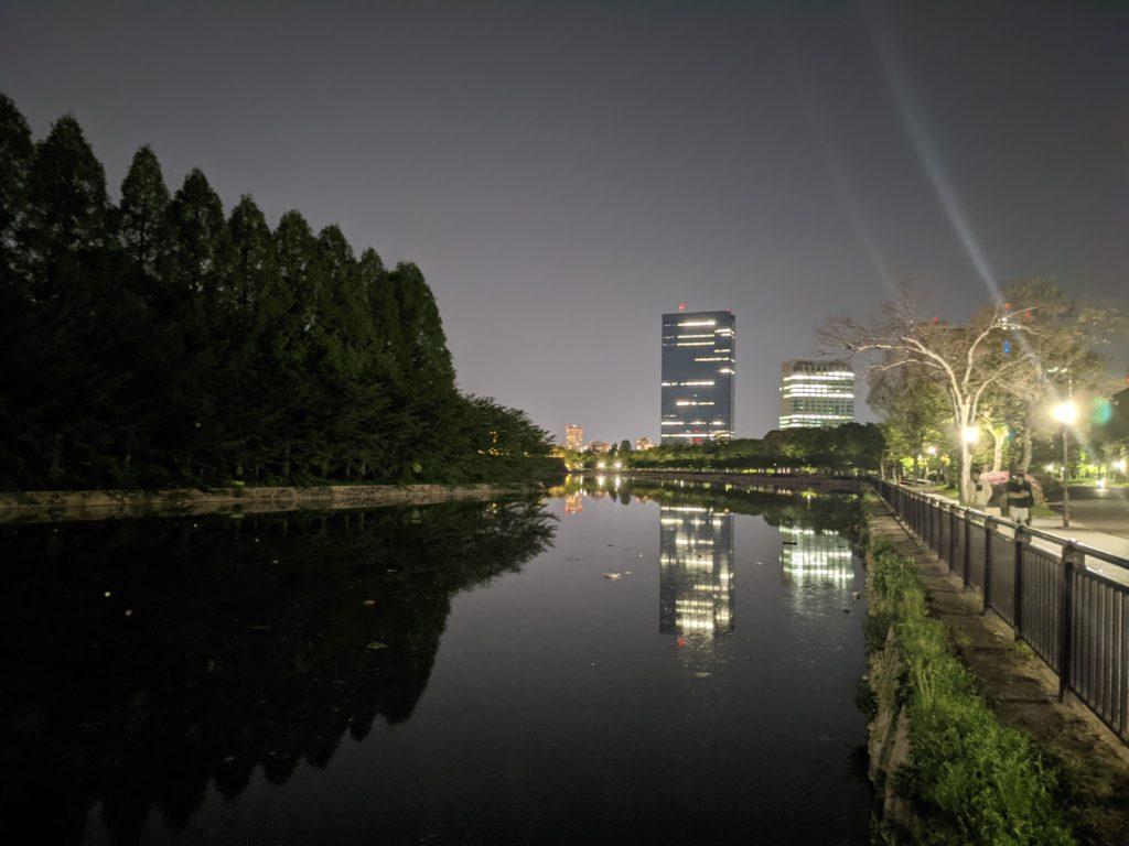 Pixel 4a 夜景モード